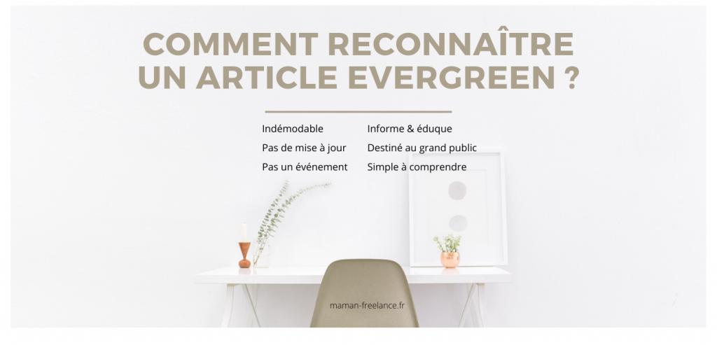 Comment écrire un article evergreen et le reconnaitre